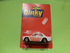 DINKY TOYS FIAT 131 ABARTH - WHITE 1:53 - NM IN UNOPENED CARD BLISTER