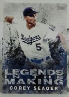 2018 TOPPS SERIES 1 LEGENDS IN THE MAKING INSERT CARD OF COREY SEAGER NO. LTM-CE