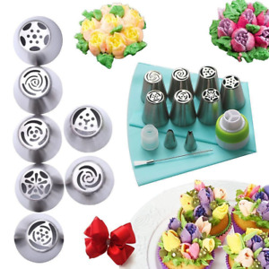 DIY Nozzle Organizers Pastry set 13Pcs Cake Decoration Action Stainless Steel