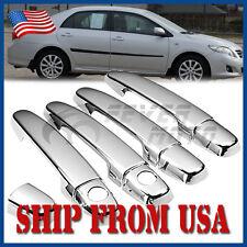 US Chrome Side Door Handle Cover Trim For Toyota Corolla/ Matrix/ RAV4 03-11 FM
