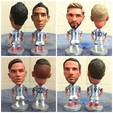 Argentinien Fussball WM Figuren Sammlung Messi Di Maria World Cup Fan Artikel