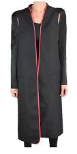 $2450 NEW 100% Authentic Haider Ackerman Women's Coat Trench Long Jacket Blazer