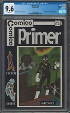 Primer #2 CGC 9.6 White Pages 1st Grendel