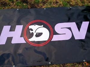 HSV Holden Special Vehicles Black PVC Vinyl Banner Flag Poster Sign 1000x1800mm