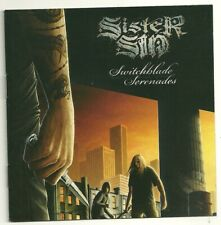 """SIGNED- Members of SISTER SIN """"Switchblade Serenade"""" CD AUTOGRAPHED Victory 2008"""