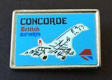 Vintage Badge CONCORDE British Airways PLANE Metal & Enamel PIN 3.25 cm x 2 cm