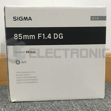 Nuevo Sigma 85mm F1.4 DG HSM Art Lens For Nikon