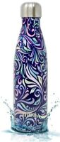 MIRA Insulated Double Wall Stainless Steel Water Bottle 17oz Swirl