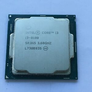 Intel Core i3-8100 3,6GHz Socket 1151 Quad-Core Procesador SR3N5
