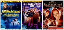 Complete Disney Halloweentown Series 1 2 3 & 4 Movie Pack Halloween DVD Bundle
