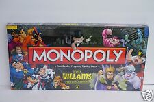 FACTORY SEALED Disney Parks Villains Monopoly Collectors Edition HARD TO FIND