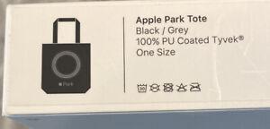 Brand New Apple Park Tote Bag Black Grey Infinite Loop Park Employee Company