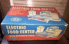 NIB Retro Cooking Toy WORKING Kitchen IDEAL Electric Food Center 1961 Never Used