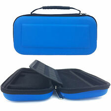 Nitendo Switch Case EVA Hard Shield Protective Waterproof Carrying Case Blue New