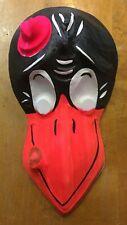 Vintage & Unused 1960's Disney Jim Crow Halloween Costume Mask Nos