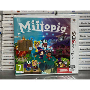 MIITOPIA NINTENDO 3DS 2DS ANCHE XL GIOCO NUOVO SIGILLATO PAL ITALIANO