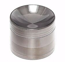 Concave 2.2 Inch 4 Layers Grinder Crusher Tobacco Herb Spice Zinc Alloy In Gun