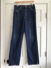 Vintage Lee Straight Leg Denim Blue Jeans USA Mens 33x34