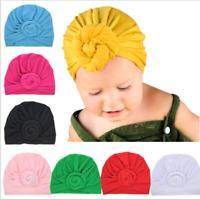 Newborn Baby Toddler Turban Knotted Headband Hair Band Accessories Headwear