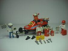 Lancha Remolque Texaco Playmobil 3538 System Antiguo Equipo Mecanico Racing