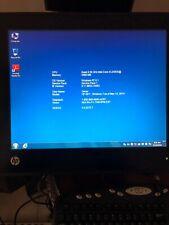 Pos System Hp Rp7 Rp7800 Core i5 4Gb Ram 128Gb Ssd Windows 7 Os, Touchscreen!