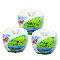 Croc Odor Fridge Deo Neutralise Smell Odour Freshener Diffuser Fragrance Pack 3