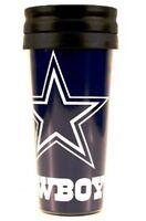Dallas Cowboys NFL 14oz Insulated Travel Hype Tumbler Coffee Mug