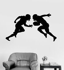 Vinyl Wall Decal Football Players Sports Teen Room Stickers Mural (ig4076)