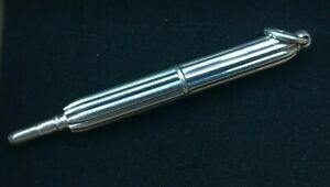 Sterling Silver Propelling Pencil c1910 in the style of S.Mordan or Mabie Todd