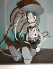 """1999 Black & White Marionette Woody 5"""" Action Figure #13 McDonald's Toy Story 2"""