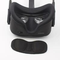 Black VR Lens Protective Cover Anti-scratch Lens Cap for Oculus Quest/Rift S