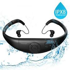 Tayogo Lettore MP3 Subacqueo 3m Nuoto 8GB IPX8 Hi-Fi Resistenza al calore 60...