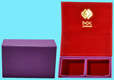DEX PROTECTION DUALIST PURPLE DECK BOX 120 SMALL Card Storage Dual Case Yugioh