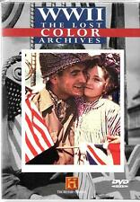 The History Channel, WWII, The Lost Color Archives, NEW DVD,  Documentary