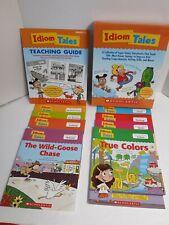 SCHOLASTIC IDIOM TALES STORYBOOKS Reading Comprehension Writing Skills Grade 2-5