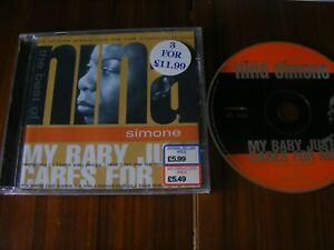 Nina Simone - My Baby Just Cares For Me The.Best Of (CD 1998)FREE P+P