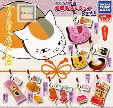 Natsume's Book Of Friends Nyanko Sensei Sweets Strap Part2 9 Pics Full Set