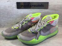"Men's Nike Zoom KD12 ""90'S KID"" Multi-Color/Volt AR4229-900 Size 10.5"