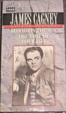 James Cagney Blood On The Sun The Time Of You Life VHS Tape 2 Video Cassettes