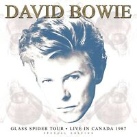 David Bowie Live Glass Spider Tour Montreal 1987 White Vinyl 3 LP Record