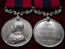 Replica GV DCM Distinguished Conduct Medal Full Size Aged moulded from original