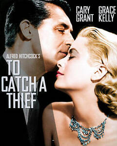 To Catch a Thief (Blu-ray Disc, 2012) Alfred Hitchcock with Slipcover VG