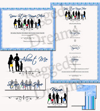 Silhouette Family Boutique Shoppers COMPLETE EBAY STORE DESIGN