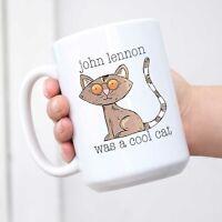 Cool Cat John Lennon Coffee Mug