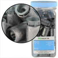 """USE #6-8 SCREWS 15,000//PACK FAST SHIP RIBBED PLASTIC ANCHOR W//COLLAR 3//16/""""X7//8/"""""""