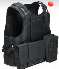 Hunting Army Paintball Go Vest Tactical Military Swat Field Battle Carrier Vest