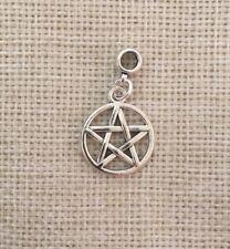 Supernatural Pentagram Silver Plated Tibetan Silver European Charm Dangle Bead