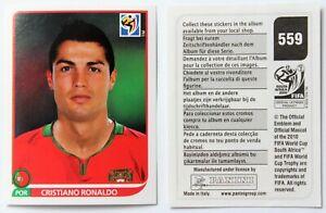 Panini WM 2010 - Sticker Cristiano Ronaldo # 559 RARE