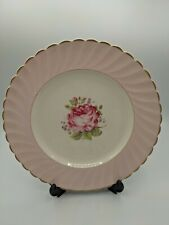 More details for clarice cliff miniver rose royal staffordshire dinner plate 10 inches c 1945