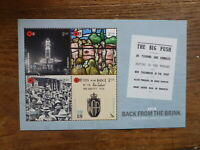 NEW ZEALAND 2018 WARTIME BACK FROM THE BRINK 4 STAMP MINI SHEET MINT